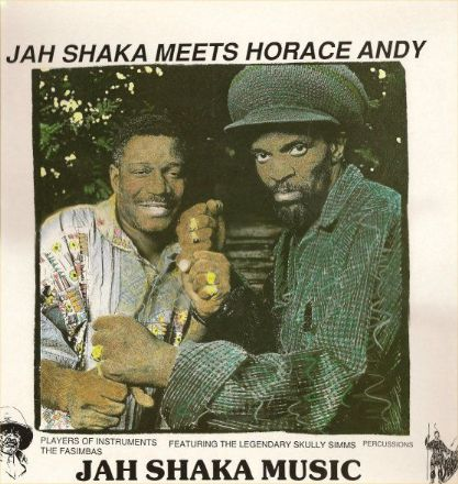 Horace Andy - Jah Shaka Meets Horace Andy (Jah Shaka Music) LP